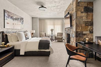 Dormitorio de residencia privada con diseño personalizado