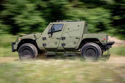 The All New HUMVEE NXT 360 light tactical vehicle has a propriety design that deliver MRAP levels of protection.